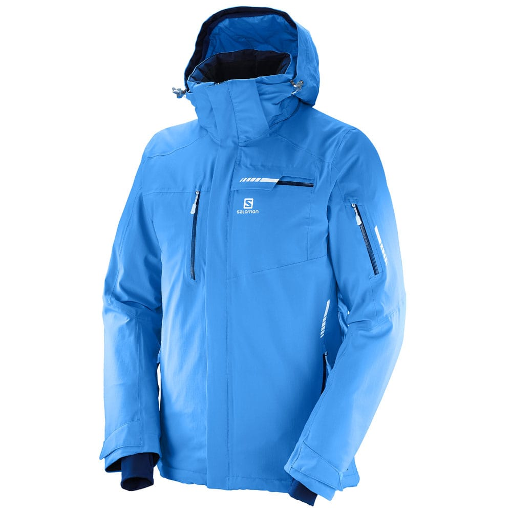 Salomon Brilliant Jacket Herren Winterjacke Hawaiian Surf tgOz2