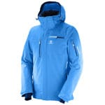 Salomon Brilliant Jacket Herren-Winterjacke Hawaiian Surf