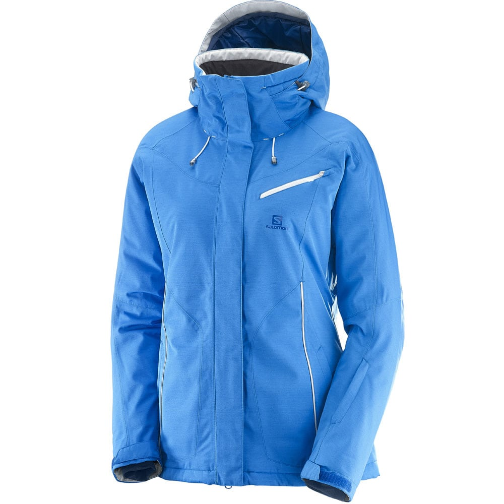 Salomon Fantasy Jacket Damen Snowboardjacke - Sky Diver Heather