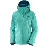 Salomon Fantasy Jacket Damen-Skijacke Waterfall Heather