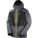 Salomon Icefrost Jacket Forged Iron