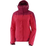 Salomon Icerocket Jacket Damen Skijacke Jalapeno Red