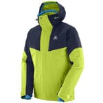 Salomon Icerocket Jacket Herren-Snowboardjacke - Acid Lime/Night Sky