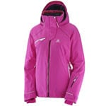 Salomon Speed Jacket Damen-Skijacke - Rose Violet