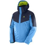 Salomon Stormseeker Jacket Herren SkijackeHawaiian/Night Sky