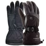 Therm-ic Powergloves Leather Ladies Black