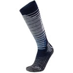 UYN Man Ski Snowboard Socks Dark Blue/Grey Melange