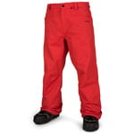 Volcom Carbon Pant Fired Red