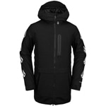 Volcom Deadlystones Long Jacket Black