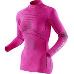 X-Bionic Lady Energy Accumulator Eva Damen-Shirt Pink/Charcoal
