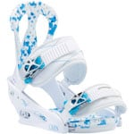 Burton Citizen Re:Flex 2017 Damen-Snowboardbindung White/Blue