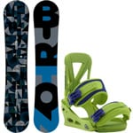 Burton Clash ICS Snowboard 157 cm Wide 2017 + Burton Custom Re-Flex