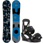 Burton Clash ICS 160cm Wide 2017 + Burton Freestyle Black 2016