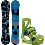 Burton Clash ICS Snowboard 160 cm Wide 2017 + Burton Custom Re-Flex