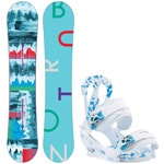 Burton Feather ICS 144cm 2016 + Burton Citizen White 2017