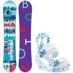 Burton Feather ICS 152cm 2016 + Burton Citizen White 2017