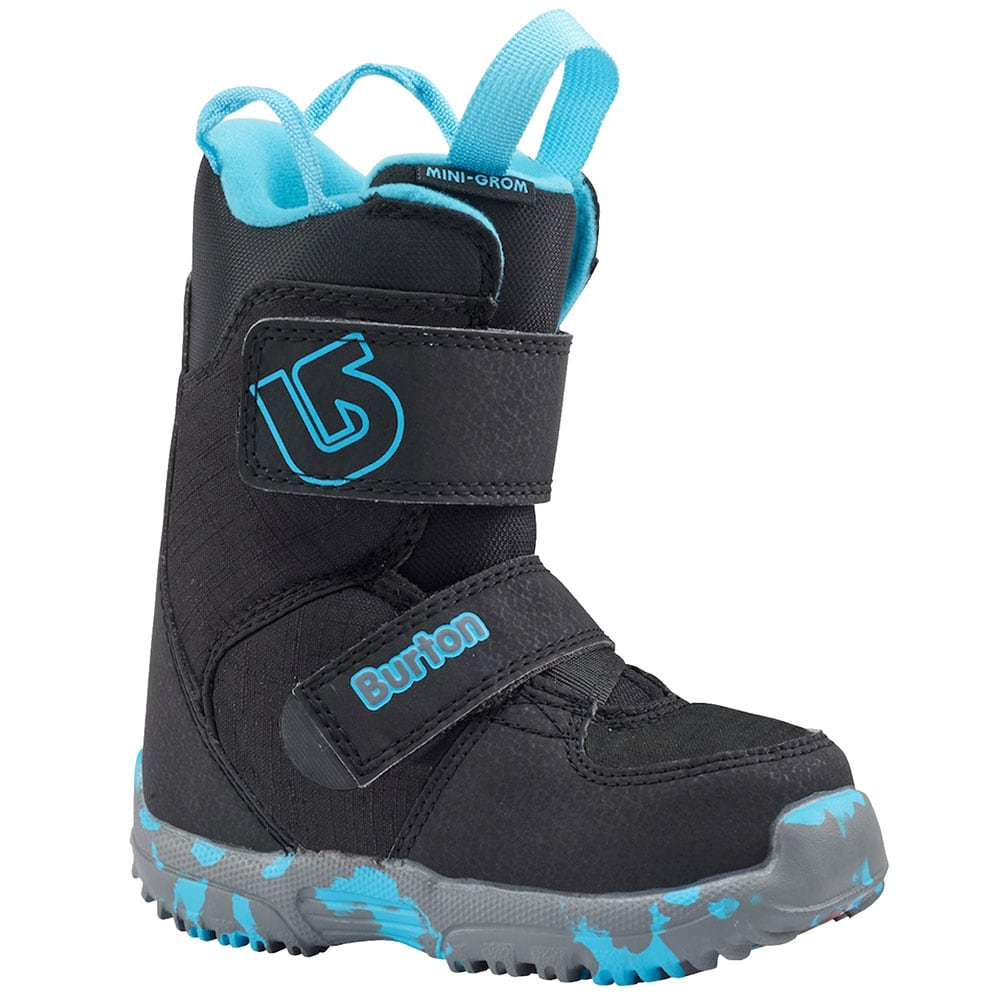 Burton Mini Grom Kinder-Snowboots Black