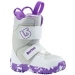 Burton Mini Grom Kinder-Snowboots White/Purple 2018