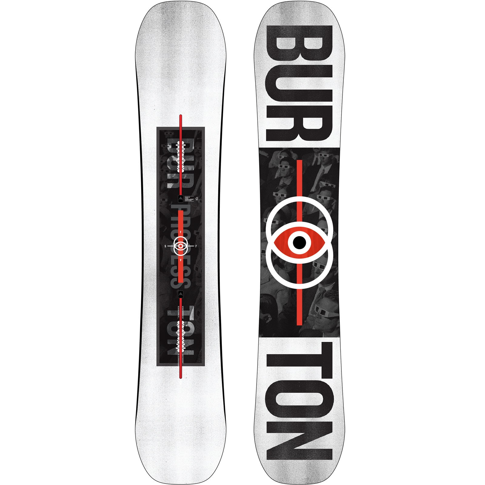 Burton Process Flying V Second Snowboard 2019
