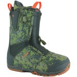 Burton Ruler Asian Fit Herren-Snowboardschuhe Green/Camo