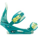 Burton Stiletto Flex Snowboardbindung (Teal Of Real) 2014