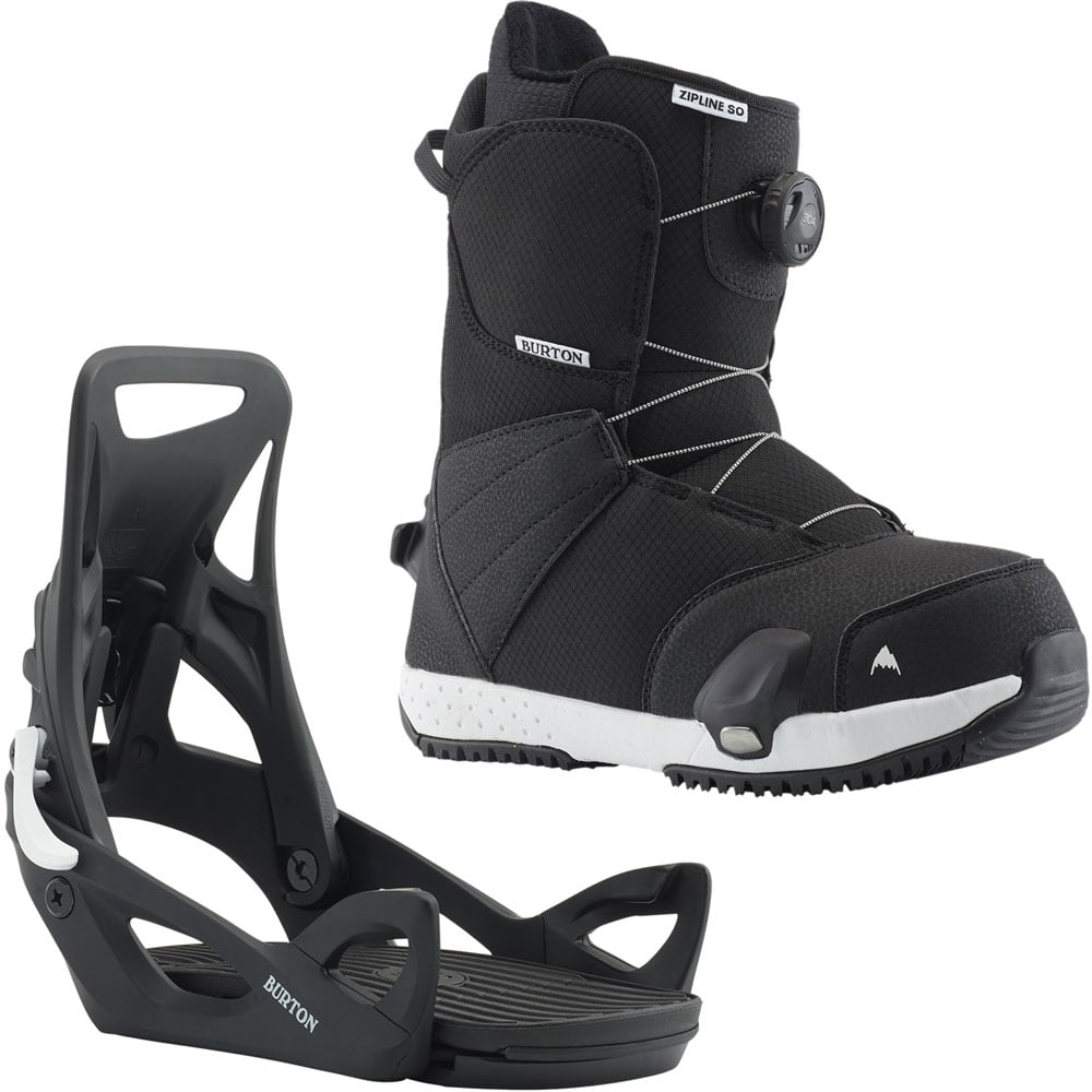 Burton Youth STEP ON Pack 2019 - Zipline SO - Black  -