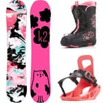 K2 Lil Kat Girls Package Snowboardset 2018