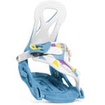 Nidecker Magic Kinder Snowboardbindung Blue