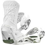 Salomon Highlander Snowboardbindung 2020 - White/Oil Green