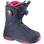 Salomon Kiana Focus Boa Damen-Snowboardboot Deep Blue/Hot Pink