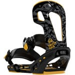 Switchback Halldor Pro Snowboard-Bindung 2020 - Black