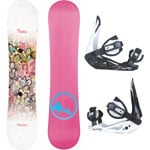 Trans Premium Girl Junior Snowboard-Set inkl. Elfgen Bindung 2019