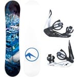 Trans Pirate Junior Kinder Snowboard-Set inkl. Elfgen Bindung