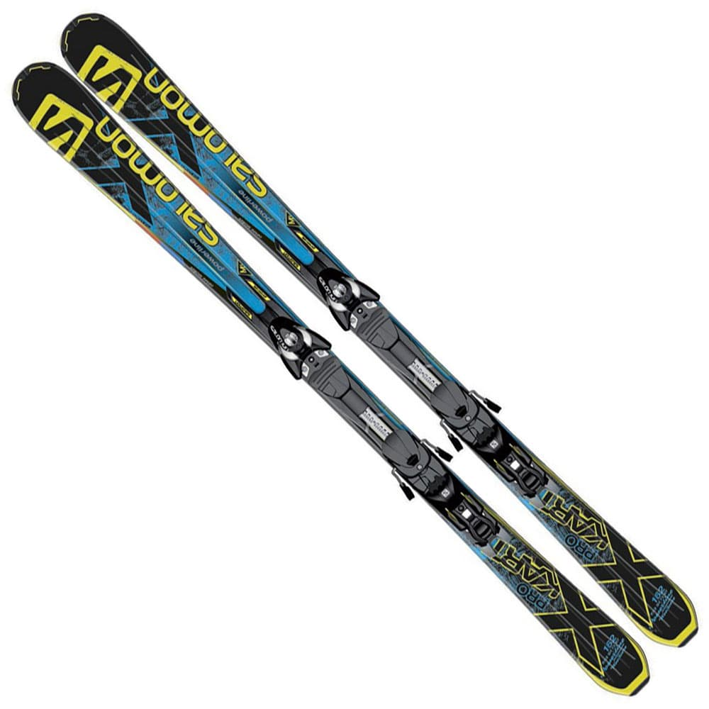 Salomon kart pro carving ski z bindung