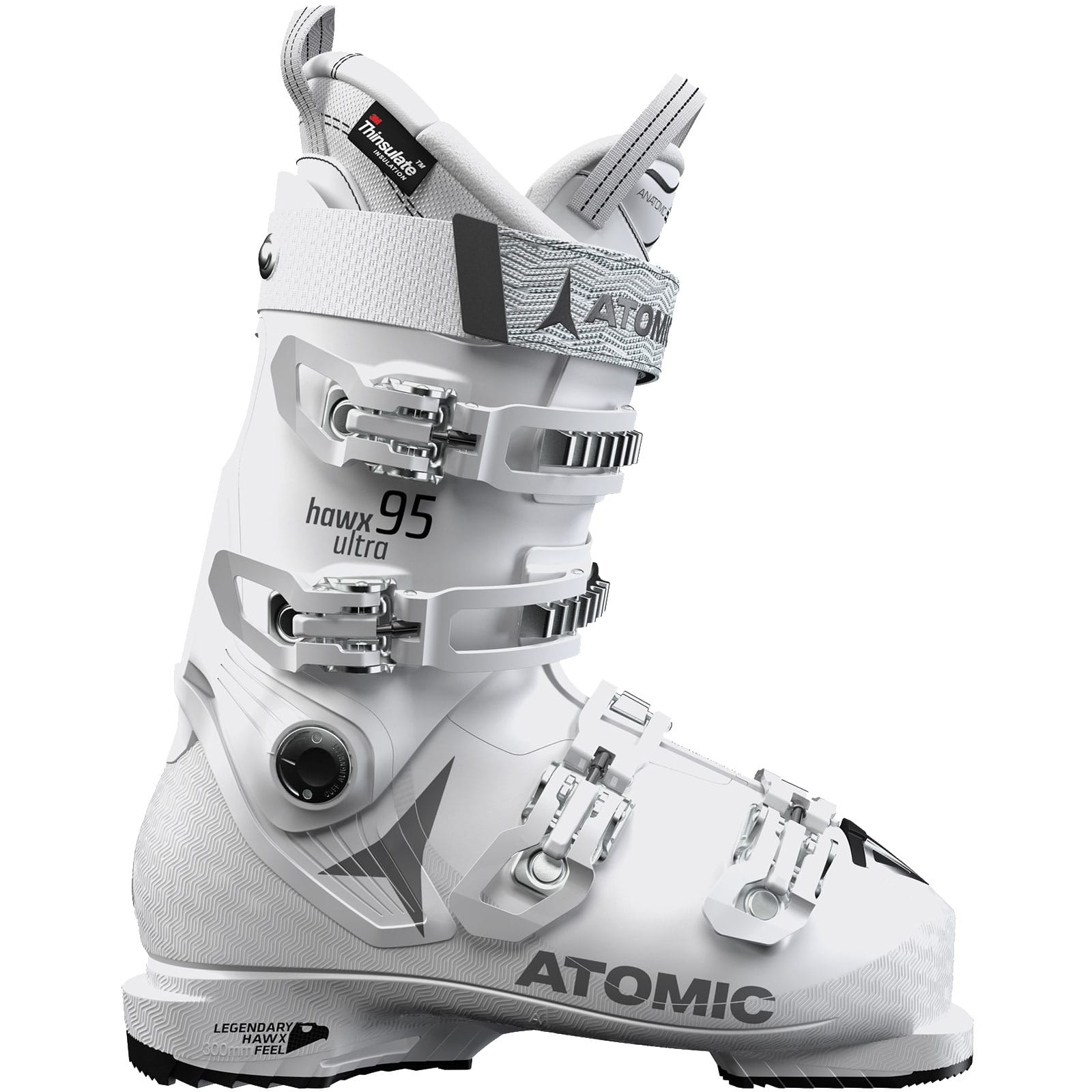 Atomic Hawx Ultra 95 Skistiefel White/Grey