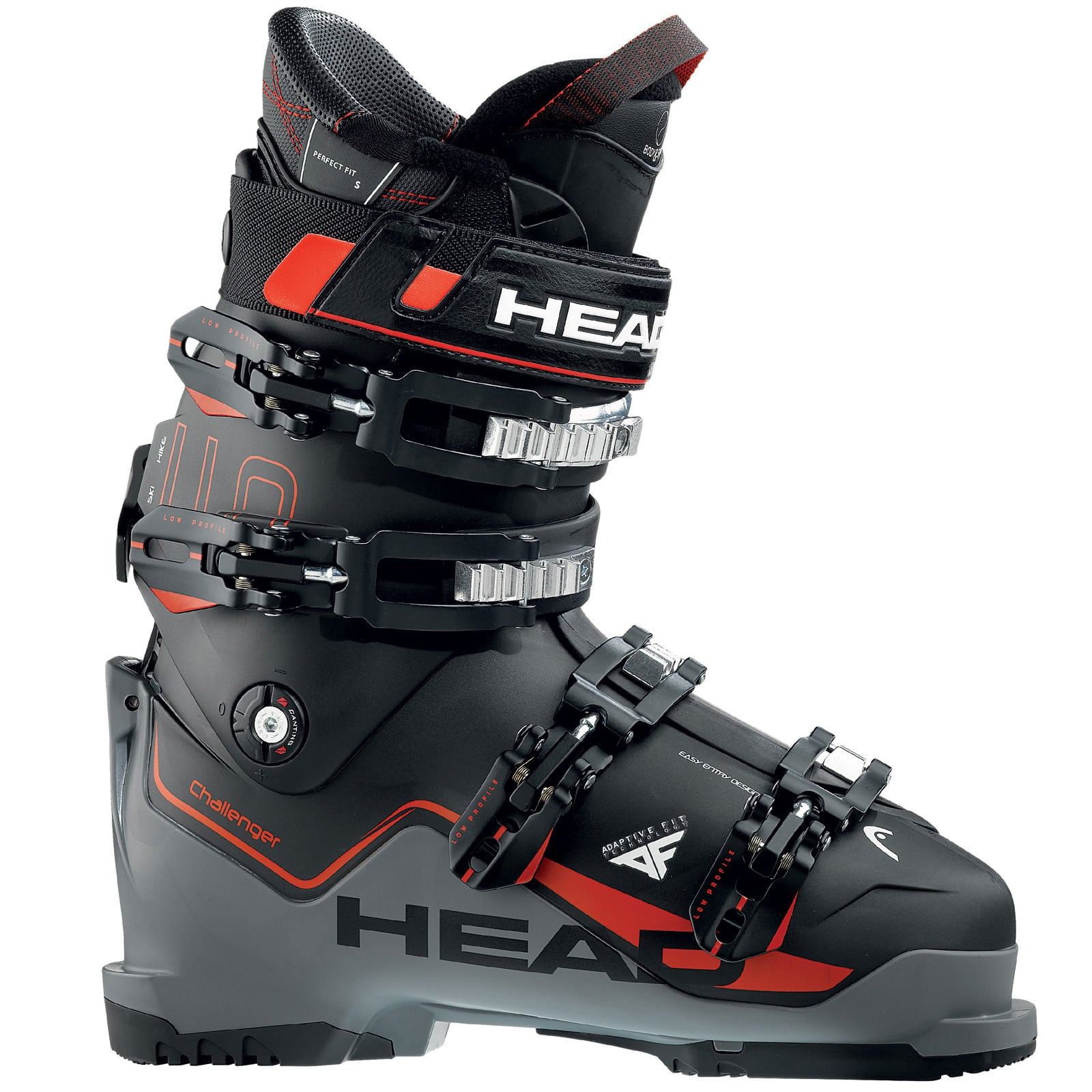 Head Challenger 110 Skistiefel Black/Anthracite/Red