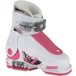 Roces Idea Up Kinder Skistiefel White/Deep Pink