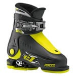 Roces Idea Up Kinder Skistiefel 450490 Black/Lime - 2017
