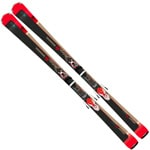 Rossignol Famous 6 Damen-Ski - Xpress W 11 B83 Bindung Black/Red