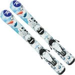 Rossignol Frozen Baby (Pre Drilled) Ski - Team 4 B76 Bindung White