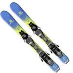 Salomon QST Max Junior XS Ski - EZY 5 Bindung L39157300 Green/Blue