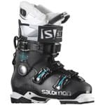 Salomon Quest Access Custom Heat W Skistiefel Black/Topaz Green