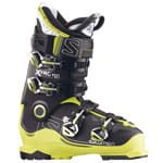 Salomon X Pro 110 Skistiefel Black/Acide Green