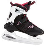 K2 Alexis Pro Ice Damen-Schlittschuhe Black-Red