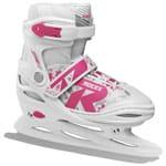 Roces Jokey Ice Girl Kinder-Schlittschuhe White/Fuchsia