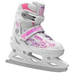 Roces Jokey Ice Girl Kinder-Schlittschuhe White/Pink/Violet
