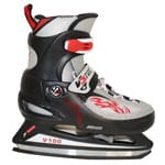 V3Tec V100 Ice Hockey Kinder-Schlittschuhe Black/Grey/Fire