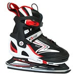 V3Tec V300 Ice Skates Soft Kinder-Schlittschuhe Black/White/Red