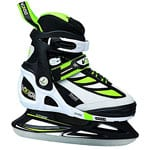 V3Tec V300 Ice Skates Soft Kinder-Schlittschuhe Black/White/Green