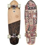 Globe Big Blazer 32 Cruiser Longboard - Natural/Burle